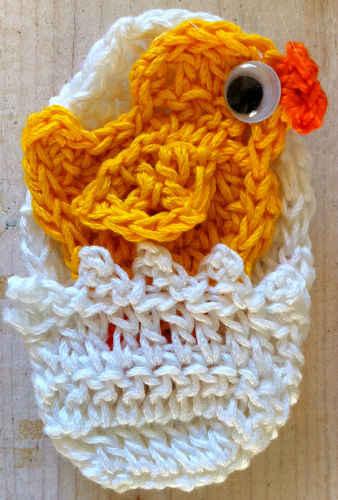 FP219 Easter Basket Egg and Duck Applique