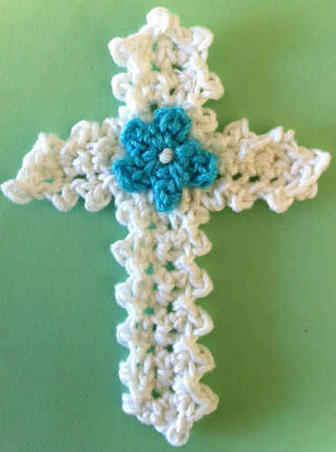 Easter Cross Appliqu
