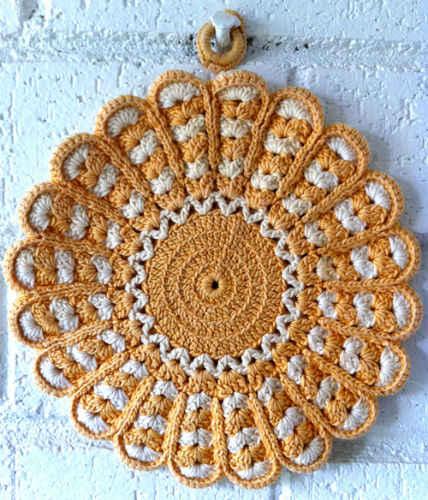 Free Vintage Crochet Potholder Patterns Easy Crochet Patterns