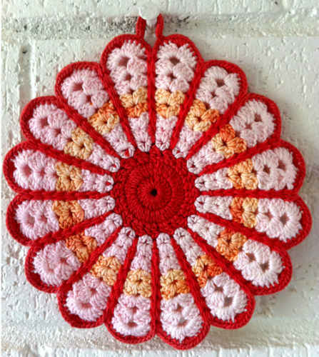 Easy Crochet Potholders Pattern - Free Crochet Pattern for Easy