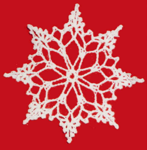 Crocheted Snowflake Links - InReach - Business class colocation