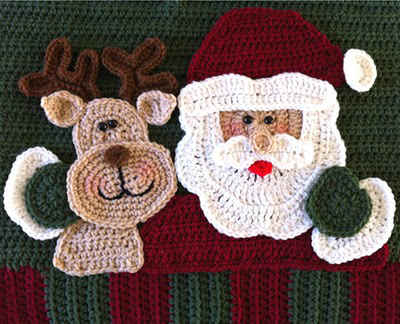 Santa Pillow Crochet Along Front_500