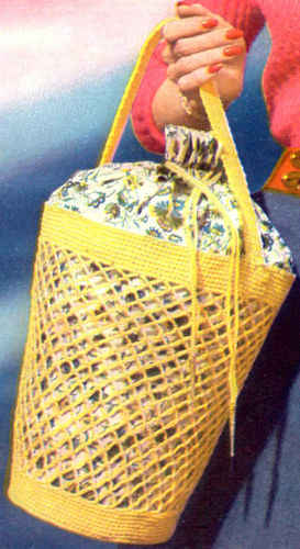 Crochet a Recycled Handbag from Plastic Grocery Bags | My Recycled