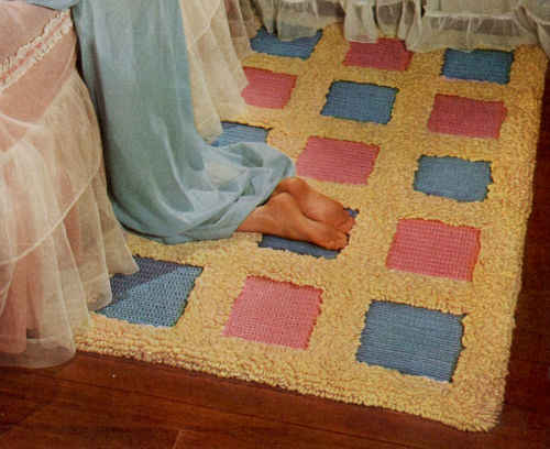 FP263 blue-and-pink-block-rug