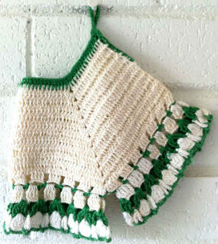 Pics Photos - Of An Out Of Print Vintage Crochet Pattern