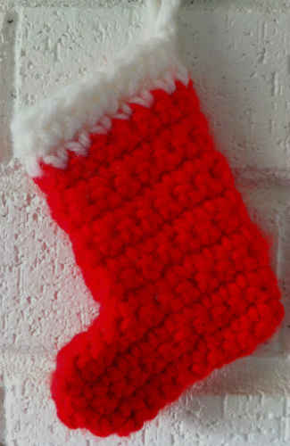 free crochet patterns holiday crochet 4 comments here is another classic little crochet stocking
