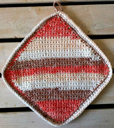 17 Corner To Corner Crochet Dishcloth