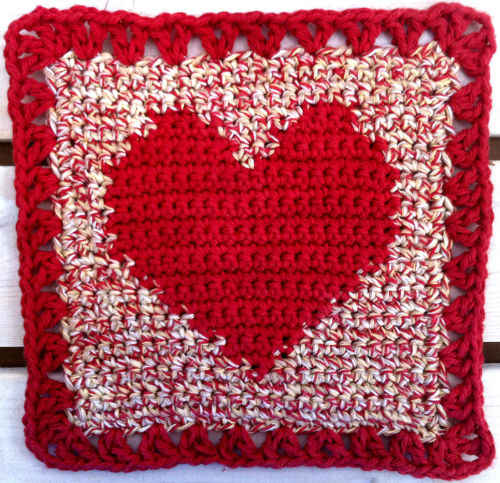 FD022 Country Hearts Dishcloth_800