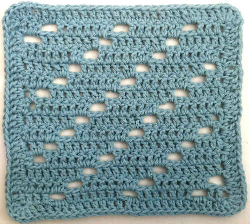 23 Holey Crochet Dishcloth