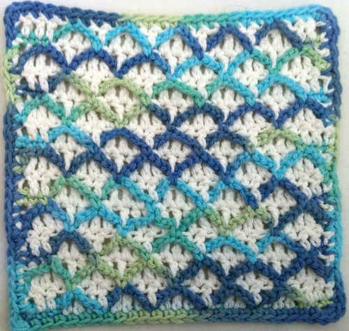 FD027 Ocean Waves Dishcloth_800