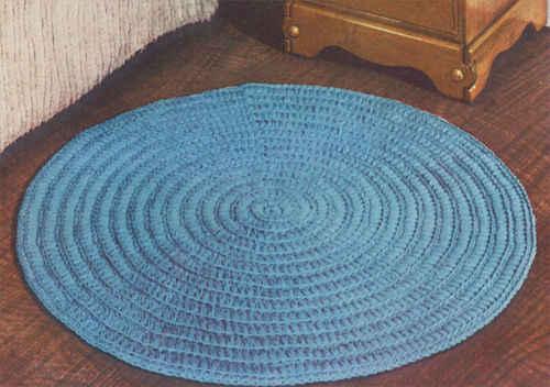 Round Crochet Rug Crochet For Beginners
