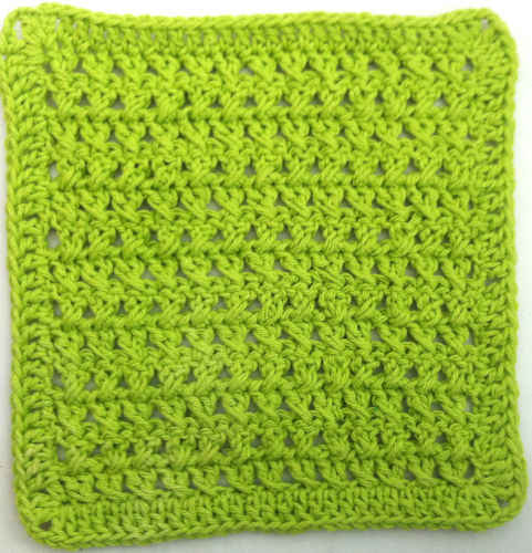 Crochet Stitches Dishcloths : 30 Cross Stitch Crochet Dishcloth