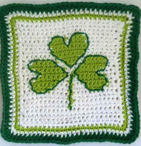 Crochet Pattern Central - Free St. Patrick's Day Crochet Pattern