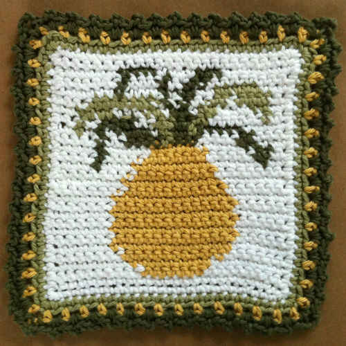 FD077 Pineapple Dishcloth_edited-1
