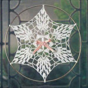 Pineapple Snowflake Suncatcher Image