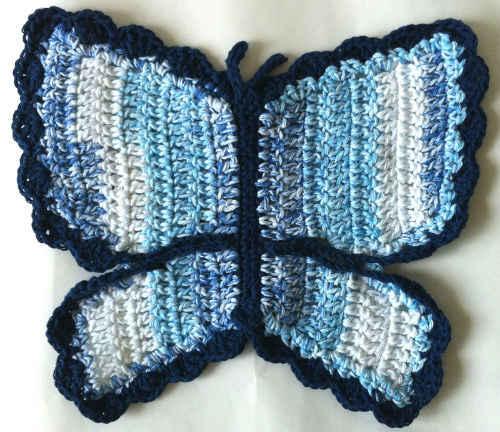 FREE BUTTERFLY CROCHET PATTERN - Crochet and Knitting Patterns