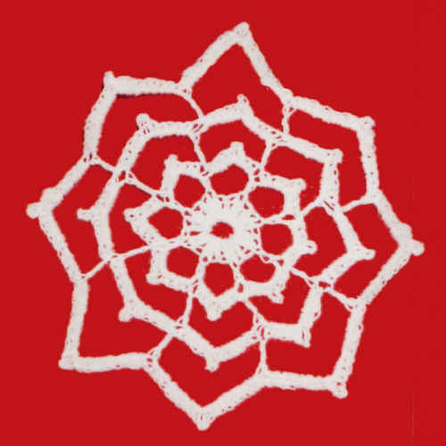 FP291 Star Snowflake Ornament