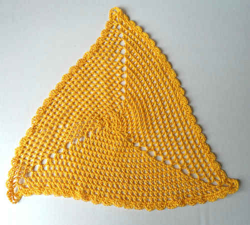 Crochet Triangle : CROCHET TRIANGLE SHAWL PATTERNS Crochet For Beginners