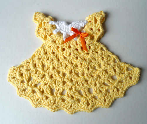 #322 Sunshine Dress Dishcloth ? Maggie Weldon Maggies Crochet