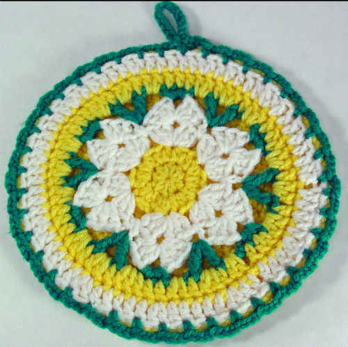 Free Crochet Pot Holder Patterns