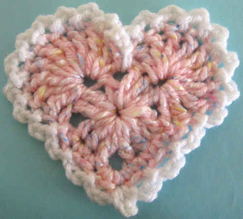 Free Heart Crochet Pattern New Calendar Template Site