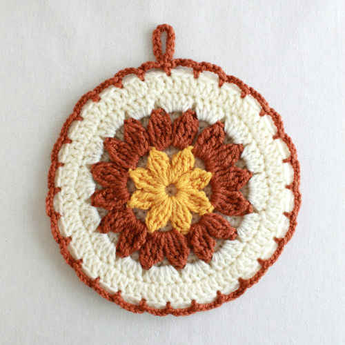 CROCHET POTHOLDER PATTERN - Crochet Club