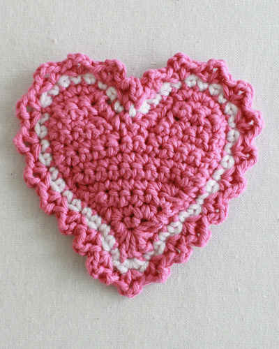 Free Crochet Heart Patterns New Calendar Template Site