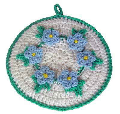 CROCHET CHRISTMAS POTHOLDERS | Crochet For Beginners