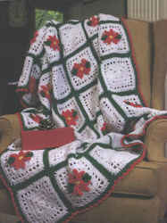 Free-Crochet-Maggie-Weldon-Poinsettia-Squares-Afghan-Pattern-FP177-Update