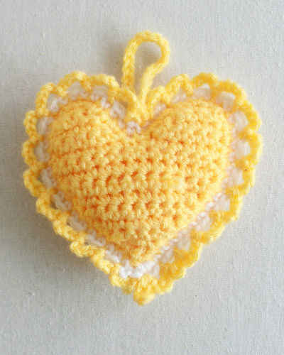 Crochet Pattern Excel : Free Crochet Heart Patterns New Calendar Template Site