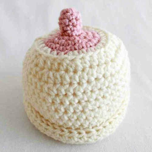 Free Crochet Pattern – Boob Hat  80 a90b0c2ffb2