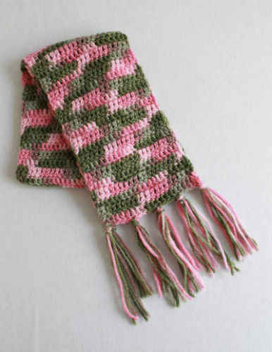 Free Crochet Pattern Super Easy Scarf #98