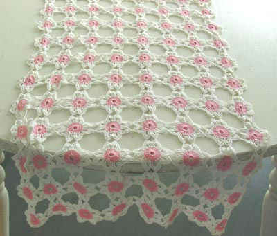 Free Printable Crochet Lace Patterns : Free Crochet Pattern Antique Lace Runner #72
