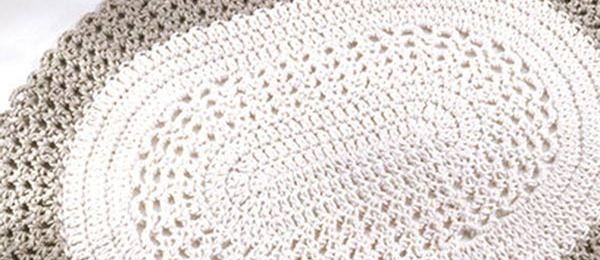 Crochet Pattern For Oval Placemat : Best Free Crochet Home Decor
