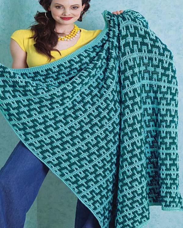 Free Beach Blanket Crochet Pattern From Redheart
