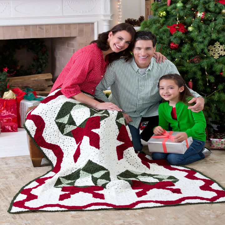 LW3111-Christmas-Wreath-Throw