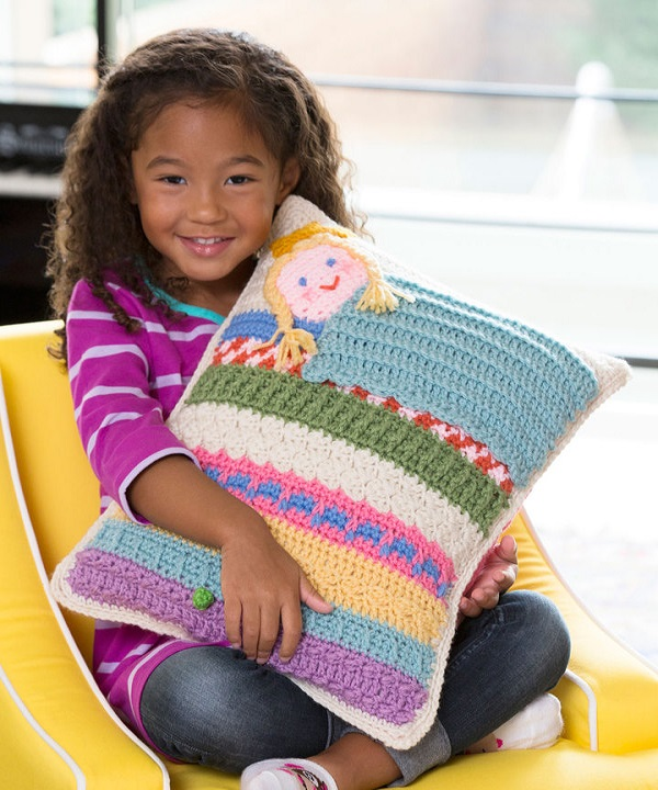 Free Princess The Pea Pillow Crochet Pattern From Redheartcom