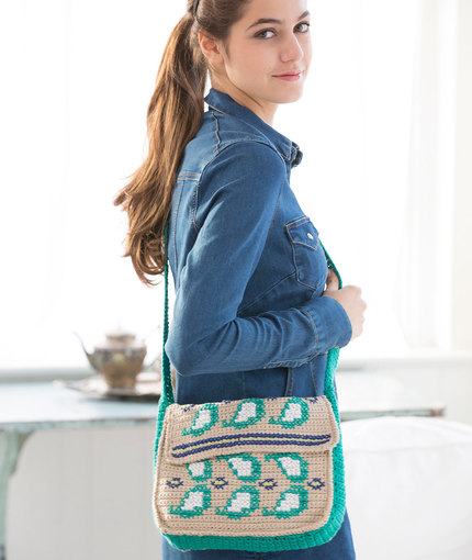 embellished paisley purse
