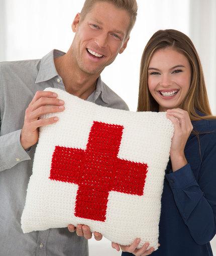 redheartcares pillow