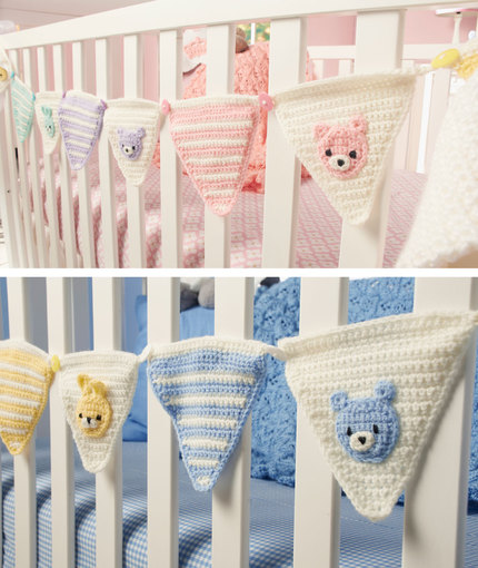 welcome baby bunting