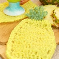 lw5453-pineapple-scrubby-dishcloth