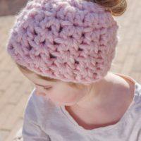 LW5607-Childs-Messy-Bun-Hat-Free-Crochet-Pattern