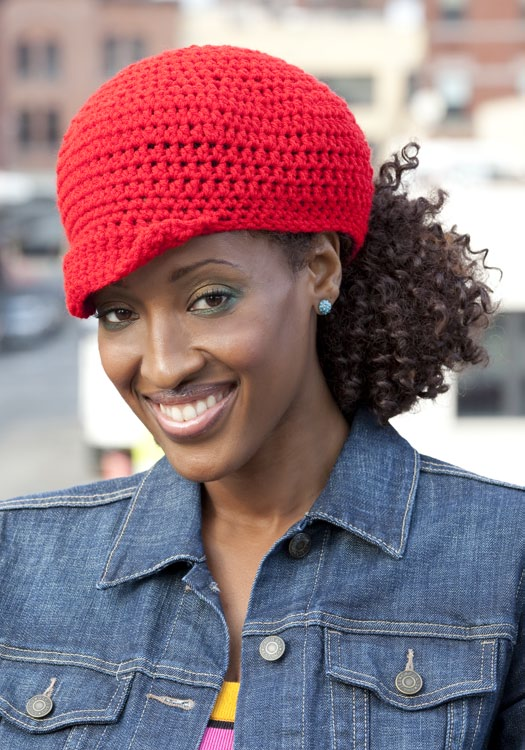 Free Ponytail Hat Crochet Pattern From Redheart